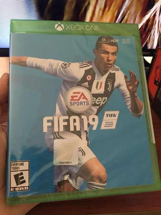 FIFA 19 NUEVO ORIGINAL (SELLADO)