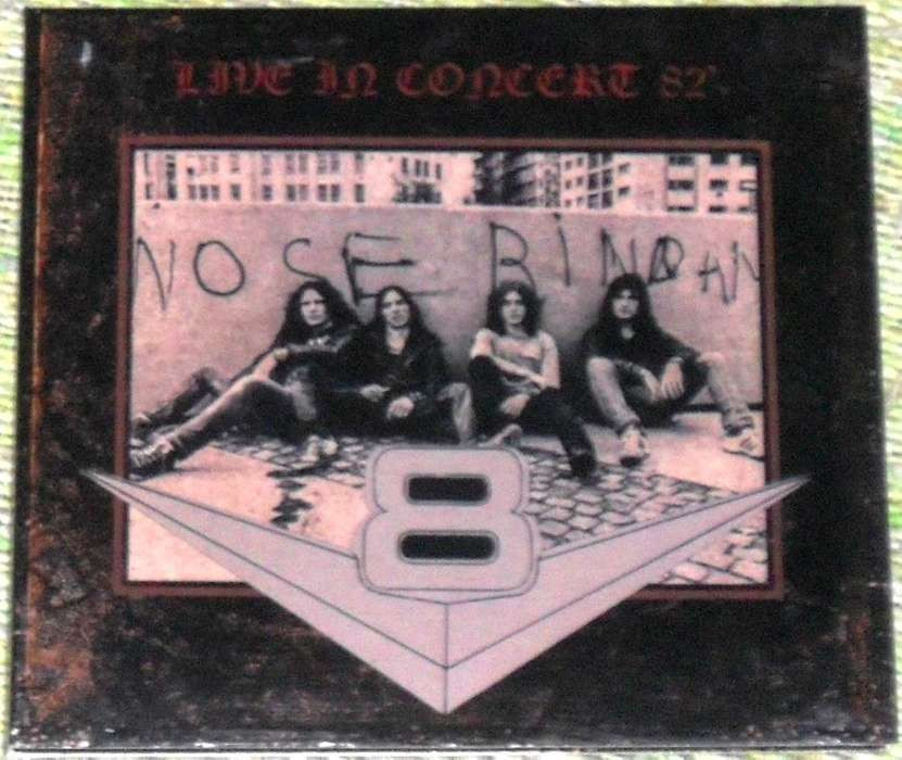 CD V8 IN CONCERT 82 BOOTLEG IORIO ZAMARBIDE