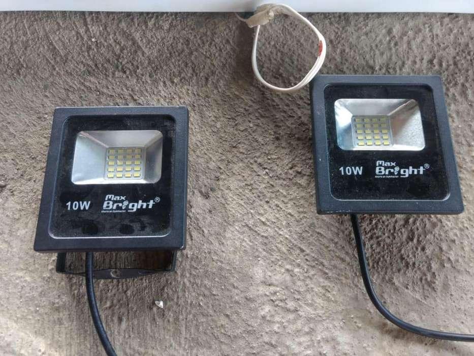 Lampara Fluorecenste & reflectores LED Negociable