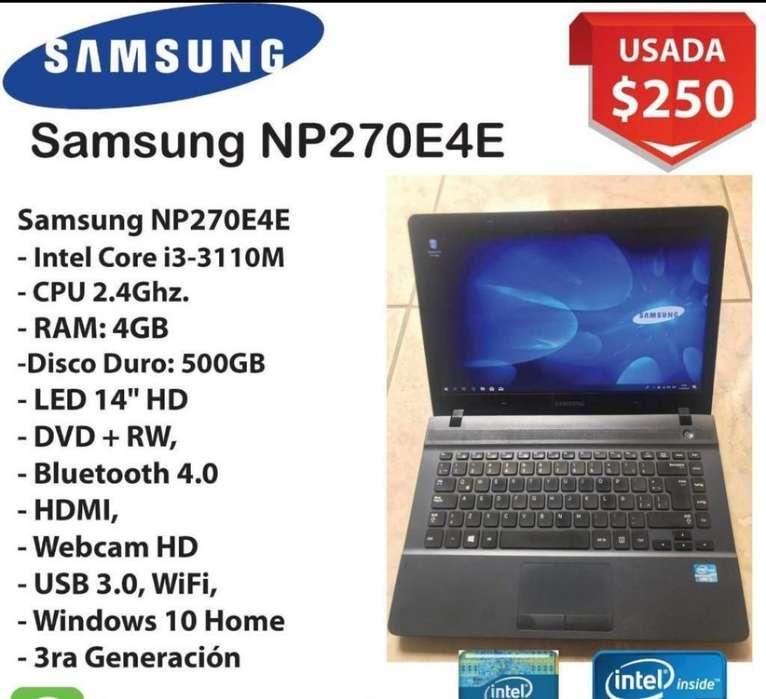 Laptop Samsung Core I3 3ra Generacion
