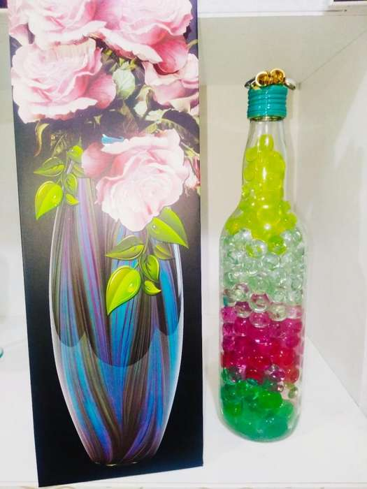 Hermosas BOTELLAS DECORATIVAS