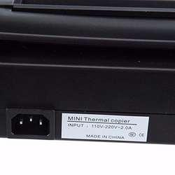 Maquina copiadora o impresora de plantillas para tatuajes