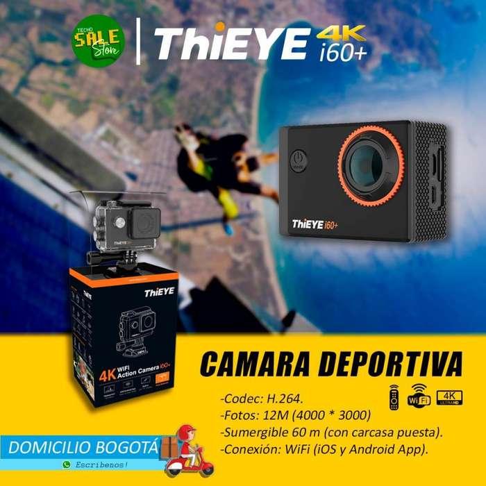 Camara Thieye Moto/deporte/sumergible 4K wifi ORIGINAL