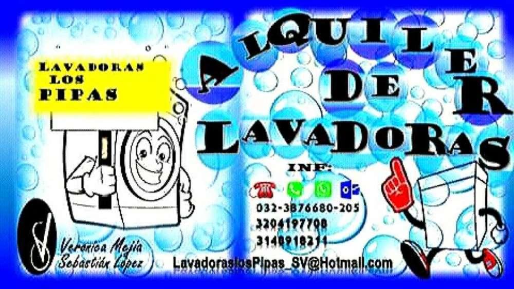 Alquiler de Lavadoras Sur