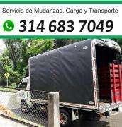 • Piaggio, Trasteos, Mudanzas 3I4 683 7O49 Carga Profesional, Acarreos