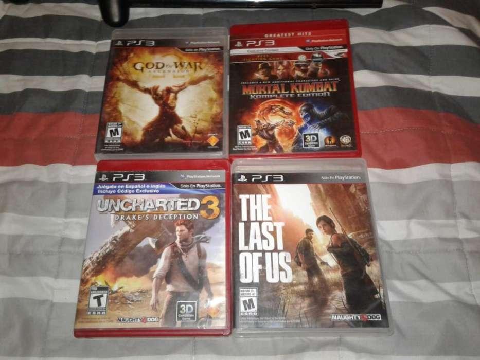 Playstation 3 con 2 Joystick 24 Juegos