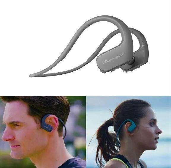 Audífonos Walkman Bluetooth Resistente Al Agua Sony Ws623