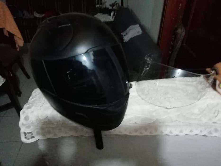 se vende casco icon alliance dark