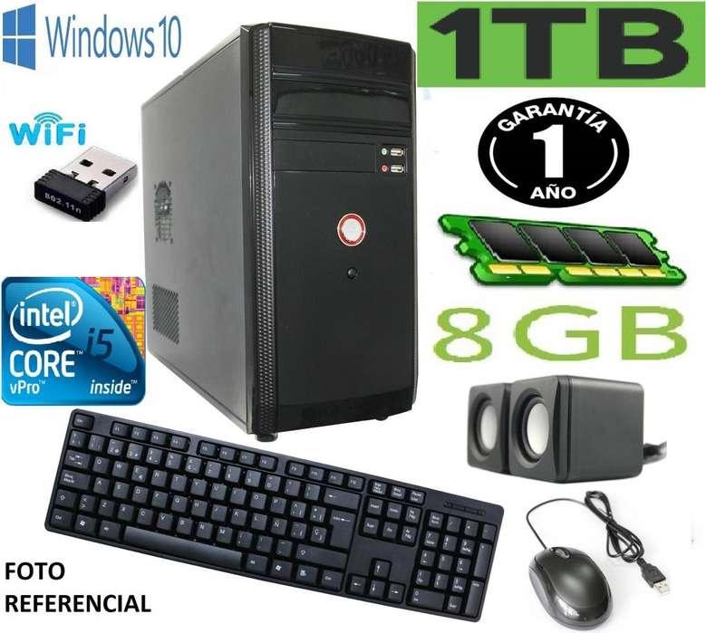 Computador Core I5 3.30ghz 8gb Dddr3 1tb Disco Wifi Nuevo