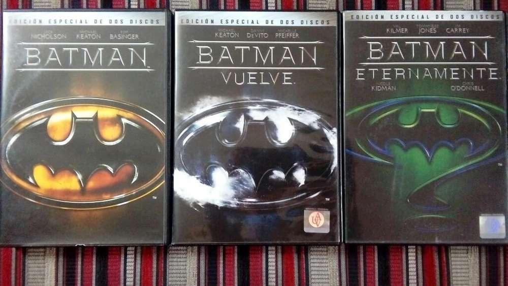 Colección Dvds Batman - 2 Discos