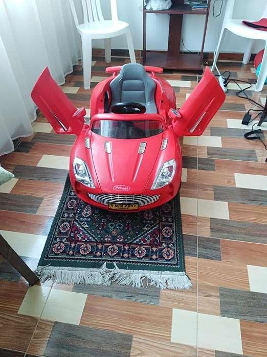 Carro Eléctrico Prinsel Rojo