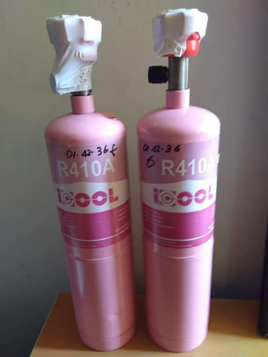 Venta de Refrigerante R410 Y 141B