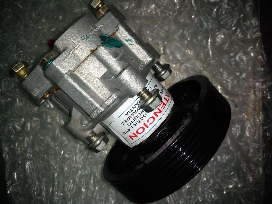 Bomba de Direccion Hidraulica con Polea