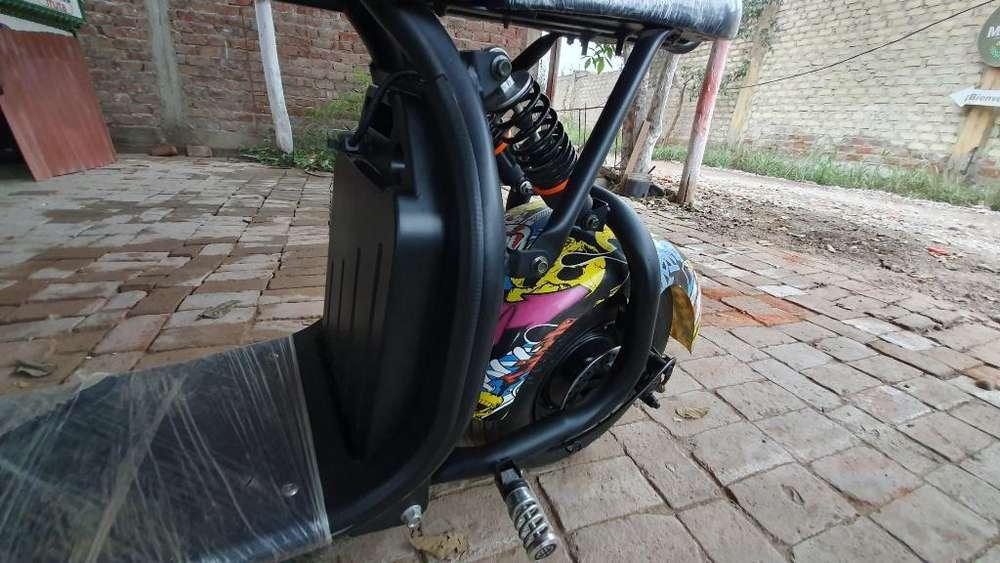 Scooter Eléctrico 800w Casi Nuevo