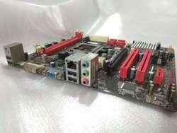 Mainboard Socket 775 Mainboard G41D3C y Mainboard H61 Biostar Mainboard