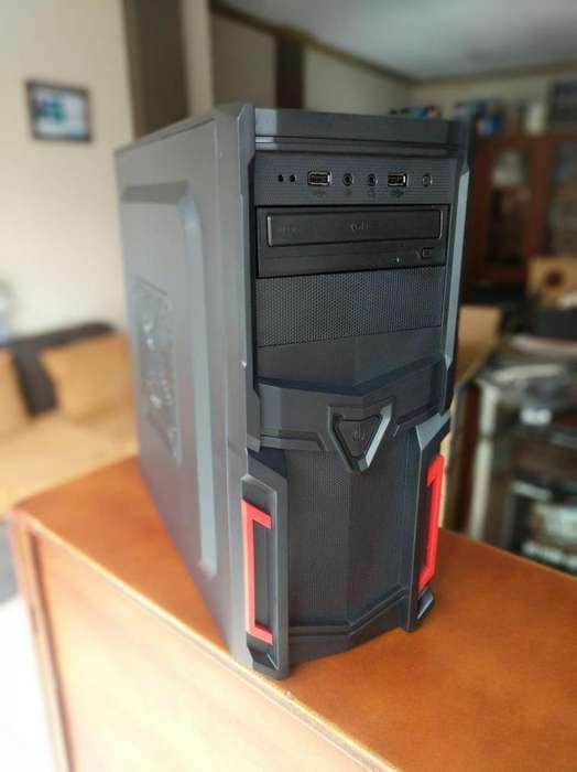 Pc Intel Dual Core 4gb 500gb Dvdrw/mouse/teclado/auriculares