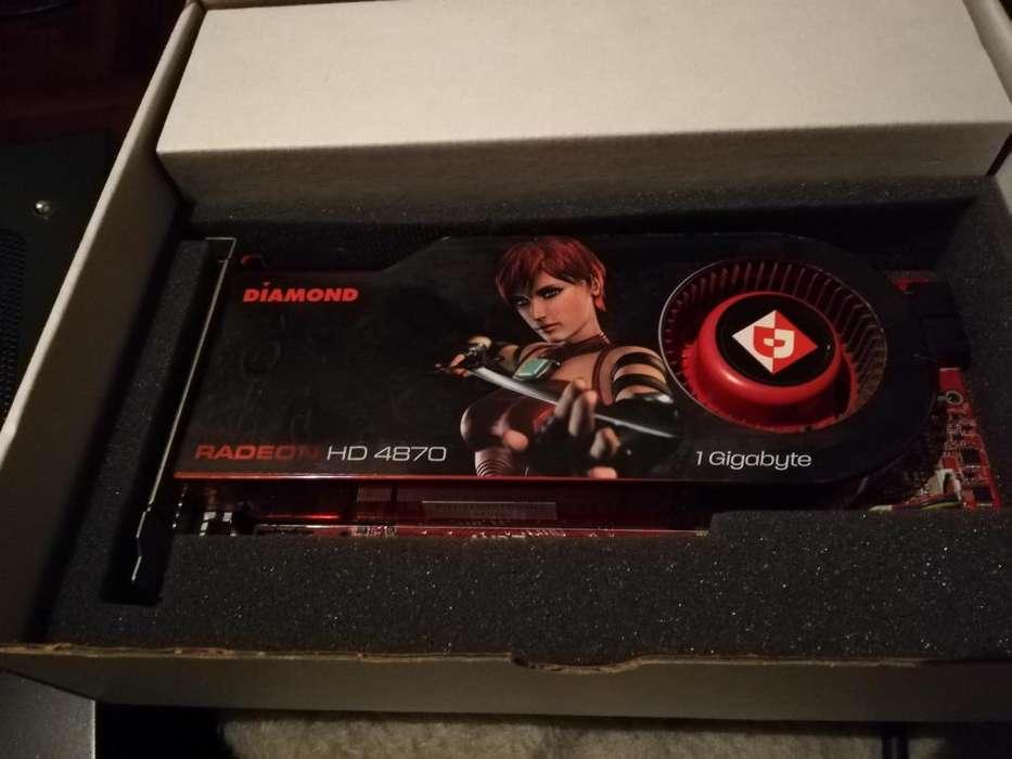 Placa de video Radeon 4870 1GB --PERMUTO—
