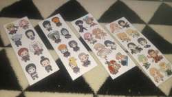 stickers anime naruto fullmetal blue exorcist dragon ball y mas