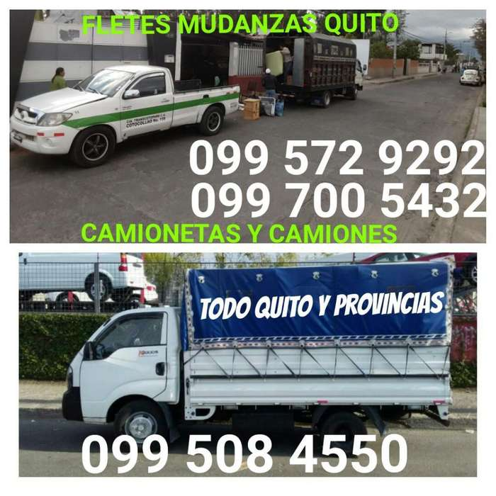 Mudanzas Fletes Todo Quito