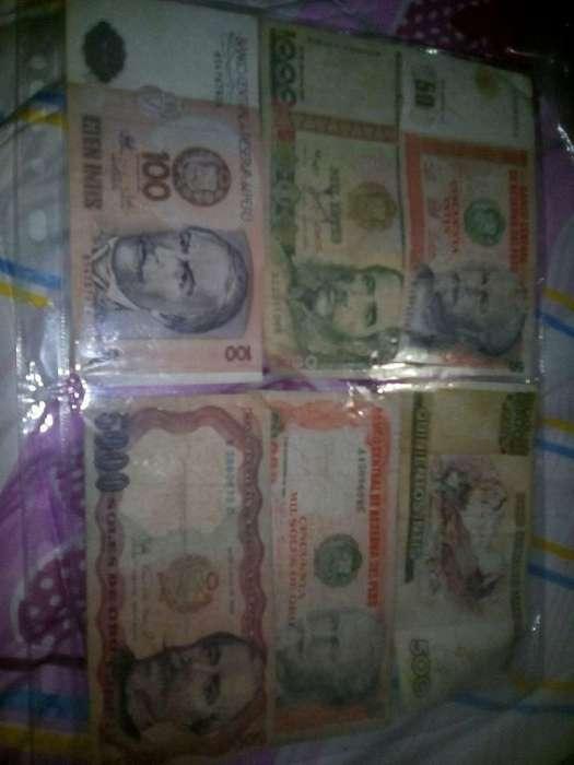 Vendo Billetes Antiguos Del Peru