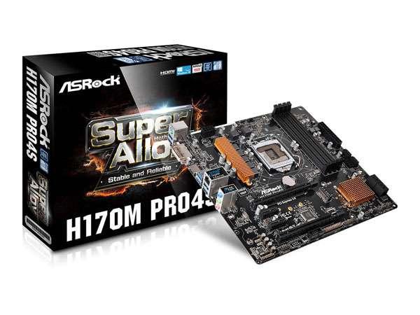 Motherboard 1151 Asrock 6th Gen H170m Pro4s