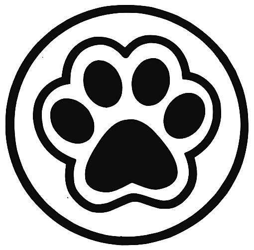 Sticker Vinil Adhesivo Huella Mascota Varios Diseñoscolores