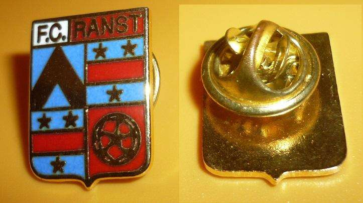 Raro Pin Distintivo Futbol FC Ranst De Belgica 1980s