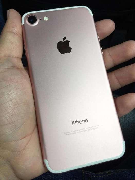 iPhone 7 Rosa -Como Nuevo-