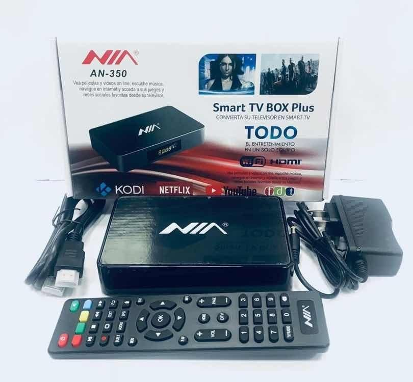 Tv Box Con Tdt Nia An-350 Hd Netflix