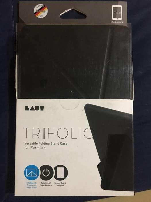 Trifolio de Cuero -Case iPad Mini 4