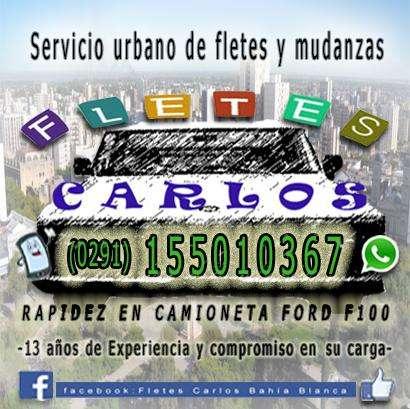 FLETES TRASLADOS MUDANZAS 2915010367 FLETES CARLOS RAPIDEZ!