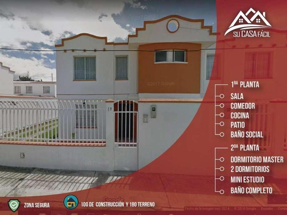 VENDO CASA EN URB. SAN CARLOS LATACUNGA 99.00 Calle Principal
