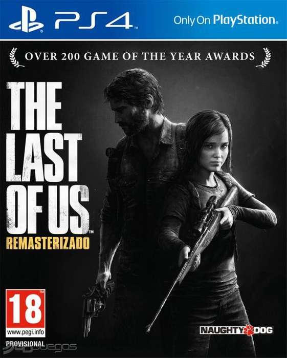 Juego The Last Of Us Remastered Ps4
