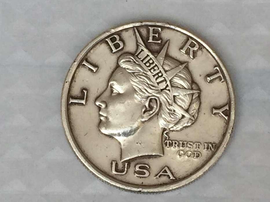 Rara Token moneda NORFED año 2000 una onza Troy de plata .999