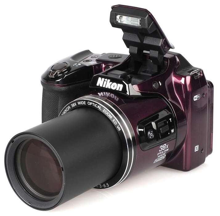 Camara Nikon L840 Wifi Zoom 38x. Graba En Full Hd. Excelente