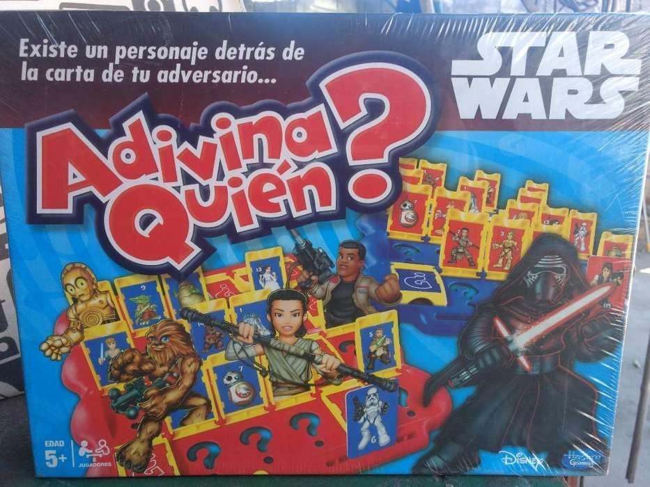 Adivina Quien Guerra de Las Galaxias