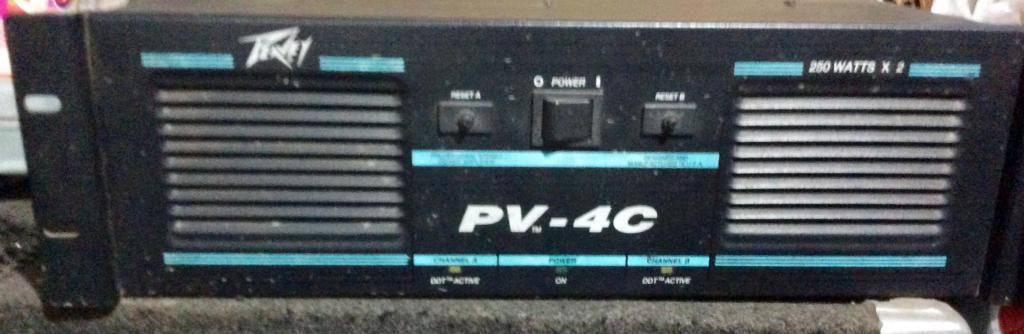 Amplificador peavey pv4c