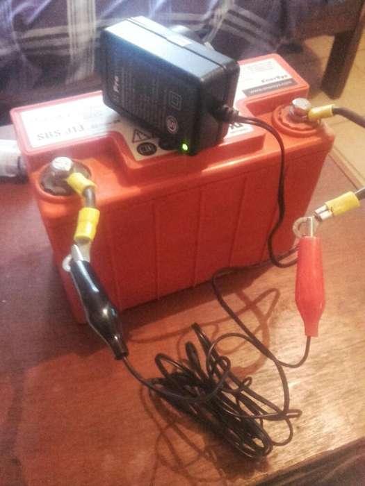 Bateria de Gel 12v con Cargador