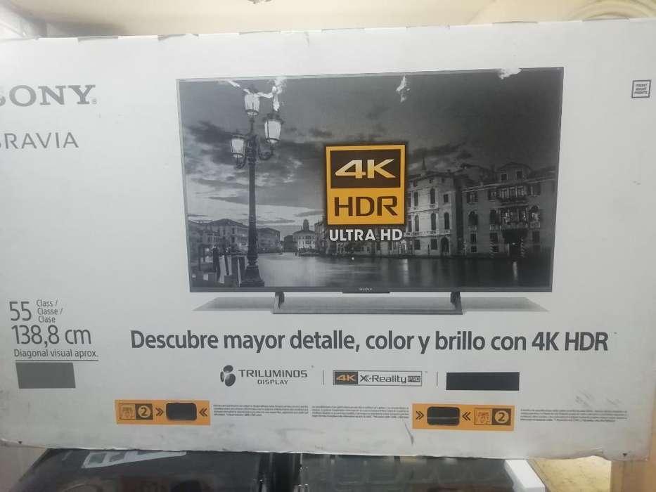 Smart Tv Marca Sony 4k 55 Pulgadas Ofert