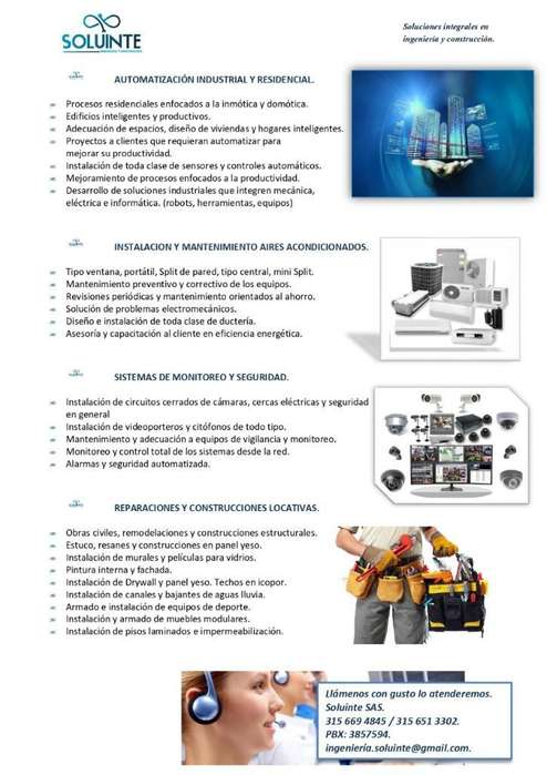 Cámaras Monitoreo Soluciones Integrales