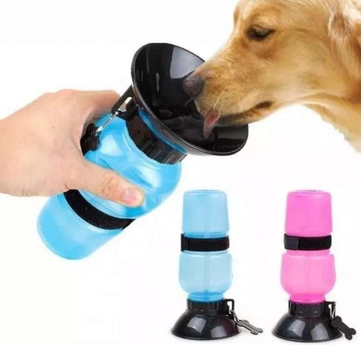 bebedero termo portatil para perro