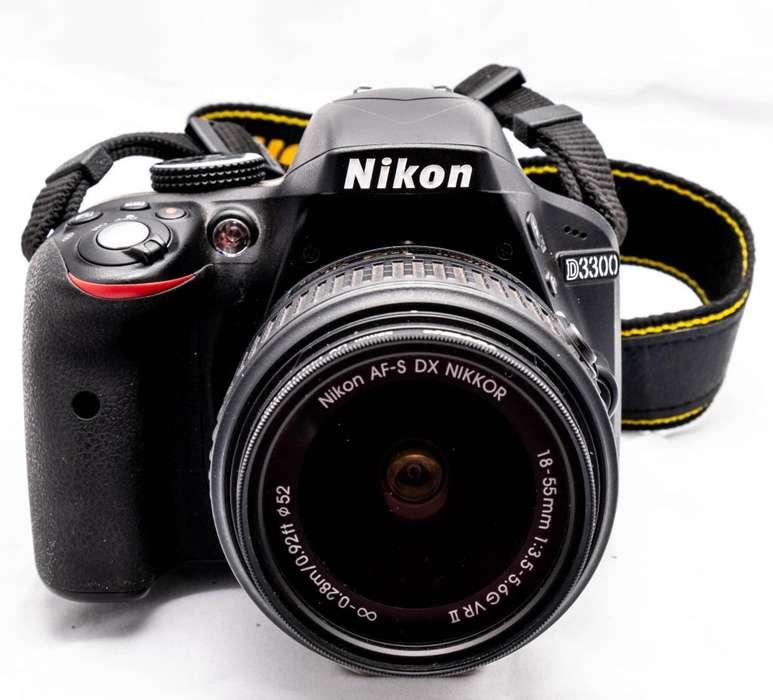 Camara Nikon D3300, Incluye Lente Y Accesorios.