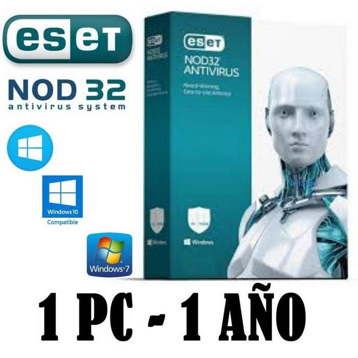Eset Nod32 Antivirus 2019 version 12 Licencia Original 1año x 1 equipo