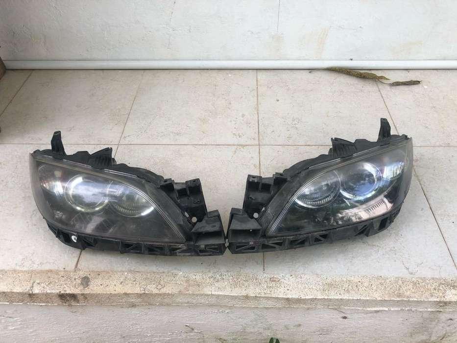 Farolas de Mazda 3 2005 a 2012