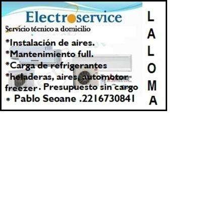 Reparacion de heladeras, aires ETC: