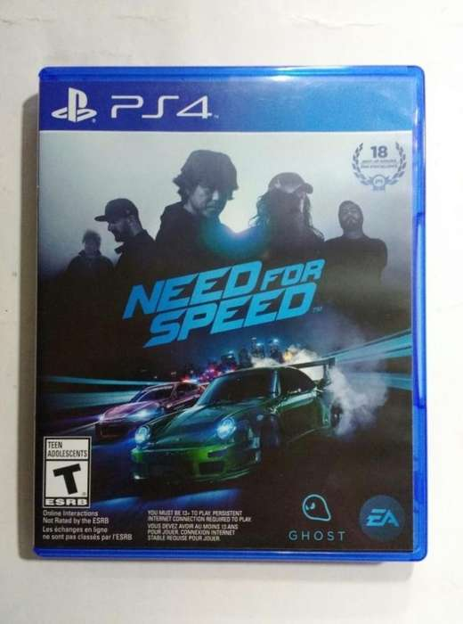 Vendo Need For Speed Ps4 Usado