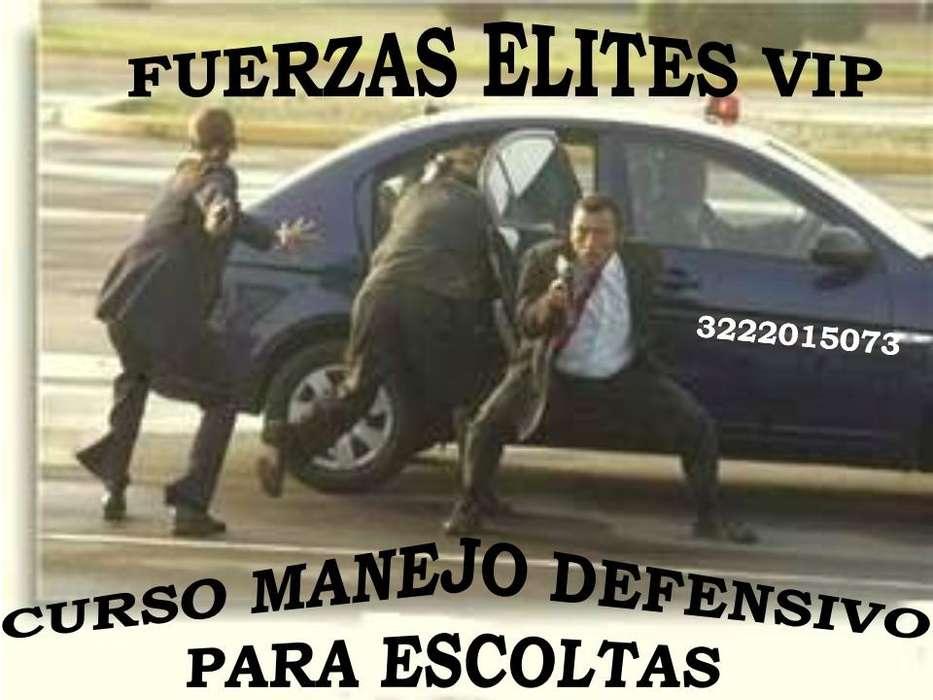 CURSO DE MANEJO DEFENSIVO PARA ESCOLTAS