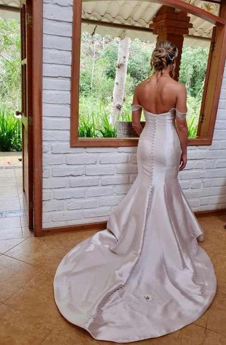 vendo vestido de novia! europeu