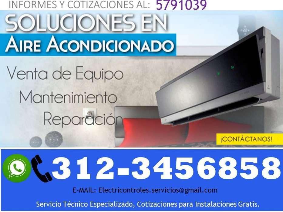 SERVICIO TECNICO AIRES ACONDICIONADOS INSTALACIÓN MANTENIMIENTO Y REPARACIÓN