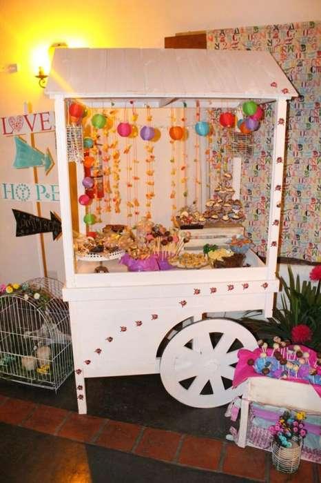 Candy Bar Carritos para Eventos